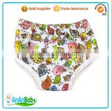 Stock Sale Waterproof Bamboo Side Snap Kids Potty Training Pants Factory                                                                         Quality Choice