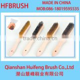 wooden handle steel wire brushes