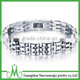 New Fashion Womens Mens Silver Pure Stainless Steel Watch Belt Bracelet Chain