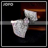New Fashion Hair Jewelry Women's Hair accessories Crystal Rhinestone Bowknot Shape Hair Clips Barrettes Hair Band