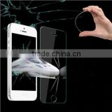 0.4mm For iphone 5s 5c tempered Glass Screen Protector Premium front clear protective film