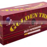Cigarette filter tubes - GOLDEN TRIP