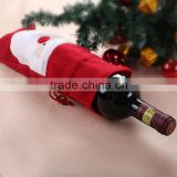 christmas beer wine bottle bag/cooler wine bottle cover dress