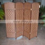 Modern and Fashional High Quality Paper Bamboo Room Divider Screen                                                                         Quality Choice