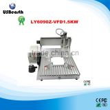 1.5KW cnc machine for cabinets/cnc machine for wood 6090 cnc router wood carving machine for sale