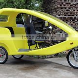 JOBO Passenger Electric Rickshaw 48V 1000W Motor Tricycle,Electric Pedicab/Velo Taxi for Sightseeing