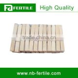 ZZB 215025 Eco-friendly Bamboo Cloth Peg For Small Order