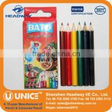 6 Mini Color Pencil Set, Half Size Color Pencil                                                                         Quality Choice