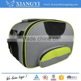 China supplier durable 600D polyester material soft sided pet carrier bag for small to medium sized pets