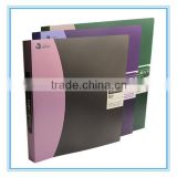 Deoi OEM customized stationery PP/PVC/PET wholesale 10 Year Experience Eco-friendly Clip Document Folder