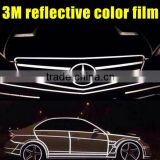 Super Quality3m reflecive color film, 3m Car Body Stickers, 3m Reflective Tape for Car Wrap