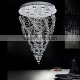 Modern crystal led portfolio light fixtures replacement parts