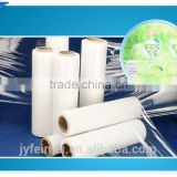 High strength PVC heat shrinkable label film