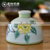 Fancy Hand painted ceramic burner incense