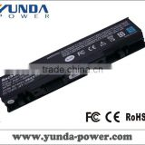 Hot wholesale brand new laptop battery for Dell Studio 1535 1536 1537 1555 1557 1558 WU946