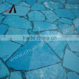 Turquoise semi precious stone table top slab,floor slab,wall tile,home decoration