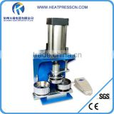 Pneumatic badge button pin making machine