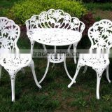 Outdoor dining furniture/hot sale cast aluminum garden furniture/modern cast aluminum patio furniture/2015 new product