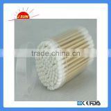 ISO/CE Wooden Stick 100% Degreasing Cosmetic Cotton Buds cotton ear buds