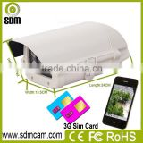 Outdoor 720P ip camera sim card 3g with BS server, android, IOS and windows clients