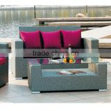 2014 Wholesale Custom synthetic PE rattan garden sofa outdoor furniture B03