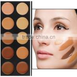 New Professional 10 Color makeup Concealer Palette Camouflage Matte Facial primer Makeup Cosmetic Foundation Base Make-up