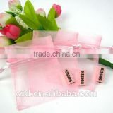 wholesale custom embroidered organza pouch/bags for small thing