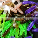 Bass Fishing Bait Small Grub 6.5cm 2.5g Single Tail Grub