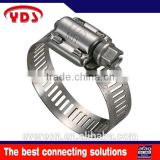 American type stainless pipe safety pump rubber hose pipe clamps