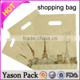 Yason biodegradable plastic shopping bag/resealable plastic bags with handles/plastic beach bag