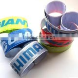 High quality custom promotional fancy pvc snap wrist band                                                                         Quality Choice