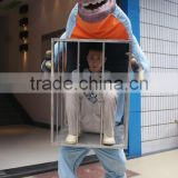Walking with Realistic Dinosaur Costume Cloth Costume