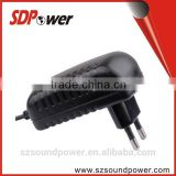 SDPower 5V 1A 2A 9V 1.5A 2A 13.5V 1A ac dc adapter with good ripple wave for audio & video market