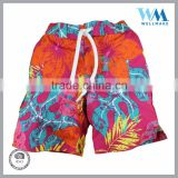 Men boys' colorful outdoor board shorts