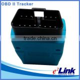Server based software GPS OBD II vehicle tracker