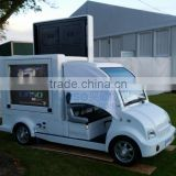 YEESO Outdoor Mobile LED Display Advertising car with Scrolling lightbox