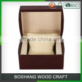 OEM factory supply low price top class watch box wooden