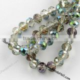 Wholesale Cheap Magnetic Rondelle Crystal Glass Beads Strands 6x4.5mm(EGLA-R035-6mm-06)