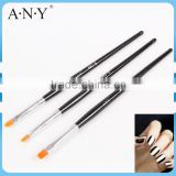 ANY Cheap Wood Handle UV Gel Nails Beauty Design Nail Brush Nail Care Set