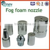 Stainless steel material 3/4'' small size fog foam fountain nozzle