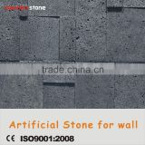 Thin sheet Nature texture stacked easy install random colors faux stone wall panels