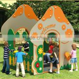 KAIQI classic Magical Station Series KQ50086B garden,kindergarten children play place Vender's Booth playground equipment