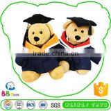 Factory Supply Good Quality Soft Plush Toy 2015 Graduation Teddy Bear