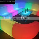 furniture sofa led furniture sectional bar sofas Led lighting plastic arabic living room sofa chair