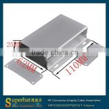 "Aluminum Box Enclosure Case -4.33""*2.44""*0.98""(L*W*H) plastic electrical panel box"