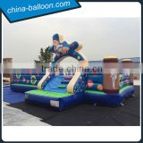 inflatable karate theme bouncer / inflatable taekwondo bouncer slide for kids