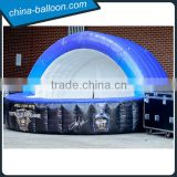 New product inflatable bar / blue color inflatable serving bar for outdoor event