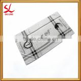China Factory Direct Sales Print Microfiber Golf Towel with Logo Embroidered