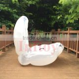 Conch shells plastic white cowry shells inflatable shell conch shell for sale