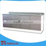 2016 formica panel lot drawers large big size AM-14-3 dental clinic cabinet hospital furniture